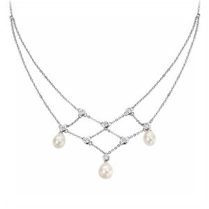Silver Necklace from Jeffreys jewellers Milford Haven